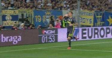 parma-Juventus DAZN