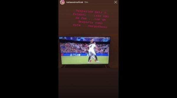 Ronaldo espulso Instagram Katia Aveiro