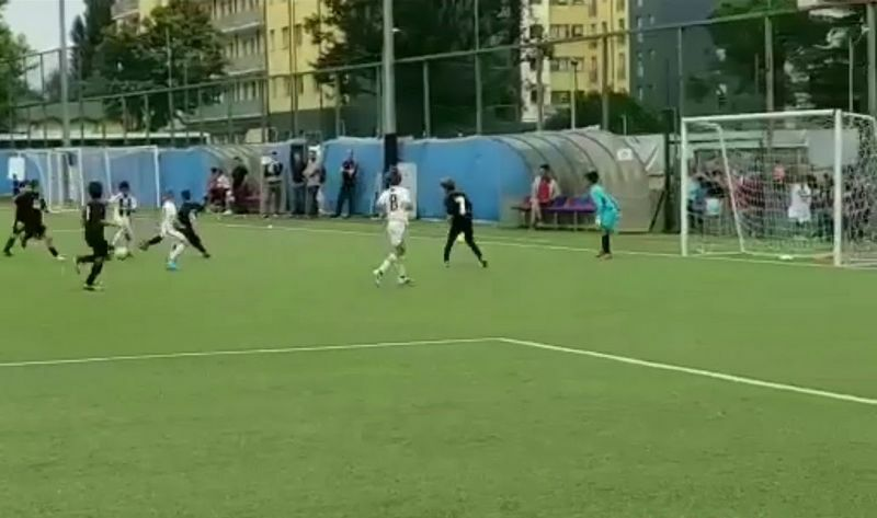 ronaldo junior juventus video