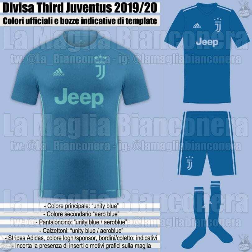 bocca maglia juventus 2019-2020 third