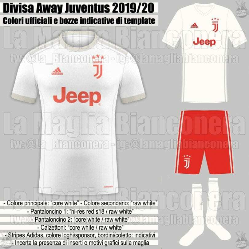 bocca maglia juventus 2019-2020 away