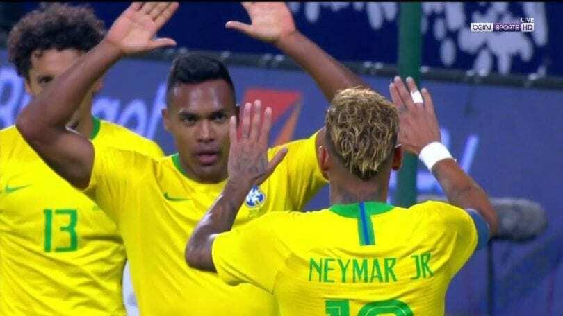 alex sandro gol arabia saudita brasile