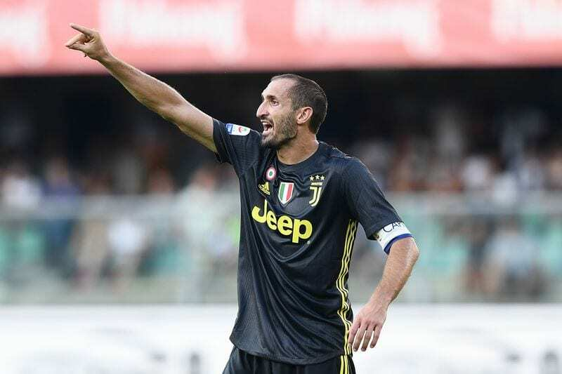 Chiellini infortunio Empoli-Juvenus