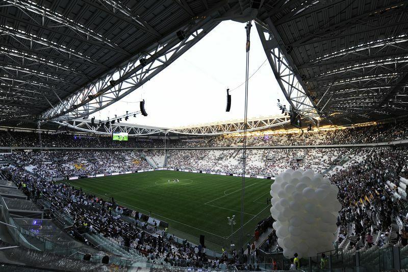 Juventus curva sud chiusa genoa