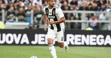 Allegri centrocampo Juventus