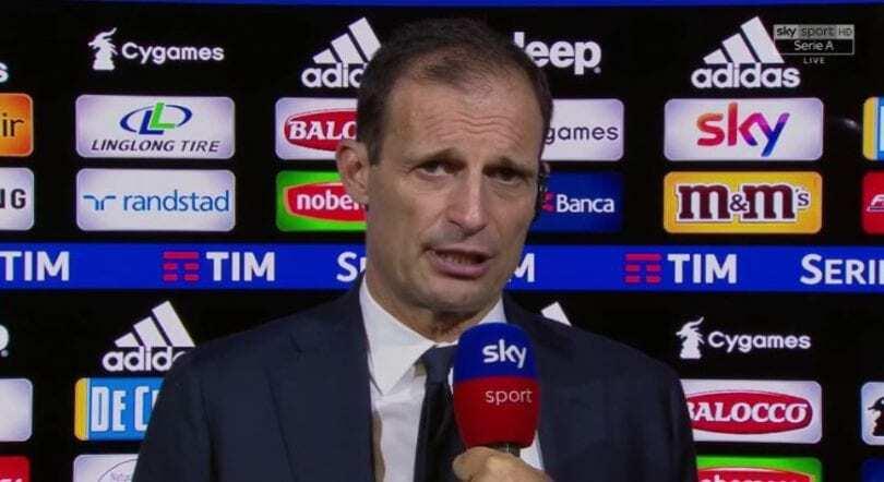 Allegri Juventus-Cagliari 3-1