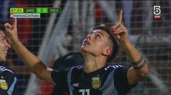 dybala argentina-messico 2-0