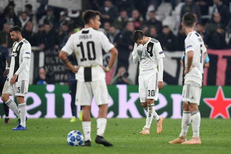 Juventus Manchester 1-2 editoriale