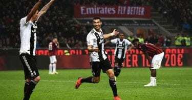 Milan-Juventus 0-2 video gol mandzukic ronaldo