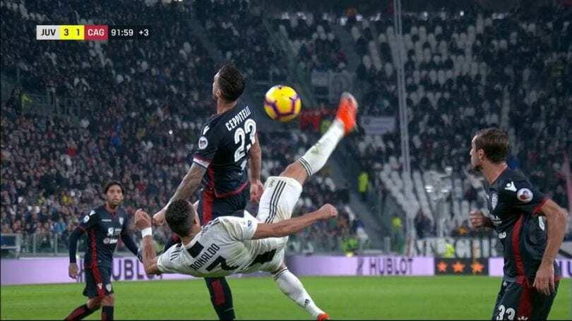 Juventus cagliari editoriale ronaldo