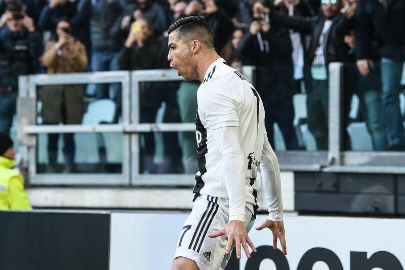 Juventus-Sampdoria 2-1 video gol ronaldo