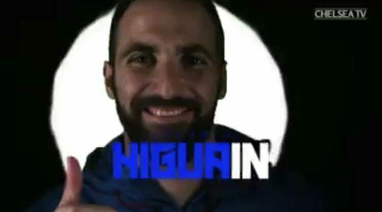 Higuain 'Un sogno giocare in Premier'
