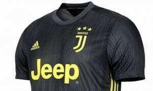 Juventus sponsor spalla