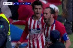 atletico madrid-juventus 2-0 highlights video gol