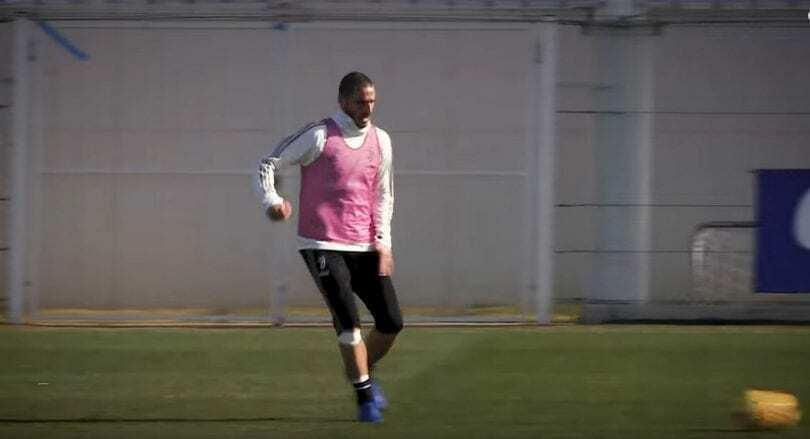 Juventus: Allegri sorride, Bonucci c'è. E Barzagli torna in gruppo