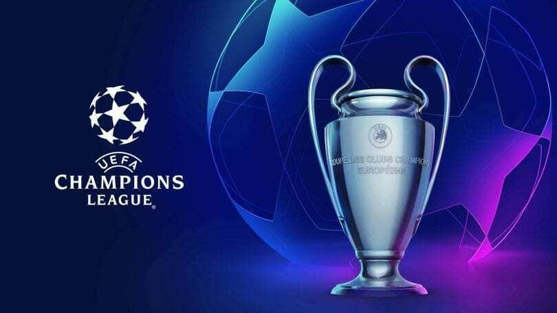 lista champions league juventus 2018 2019
