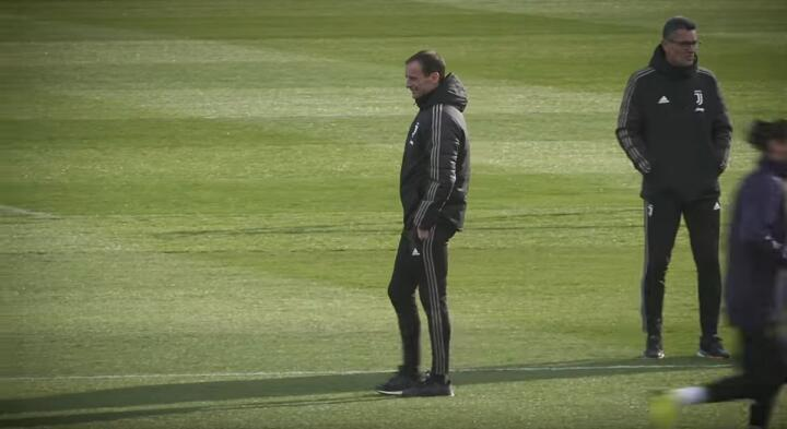 allegri continassa juventus training center