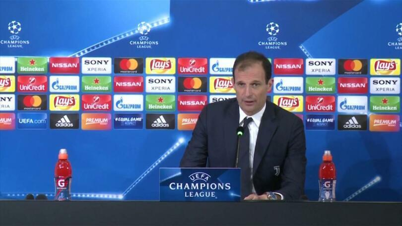 allegri juventus atletico madrid conferenza stampa