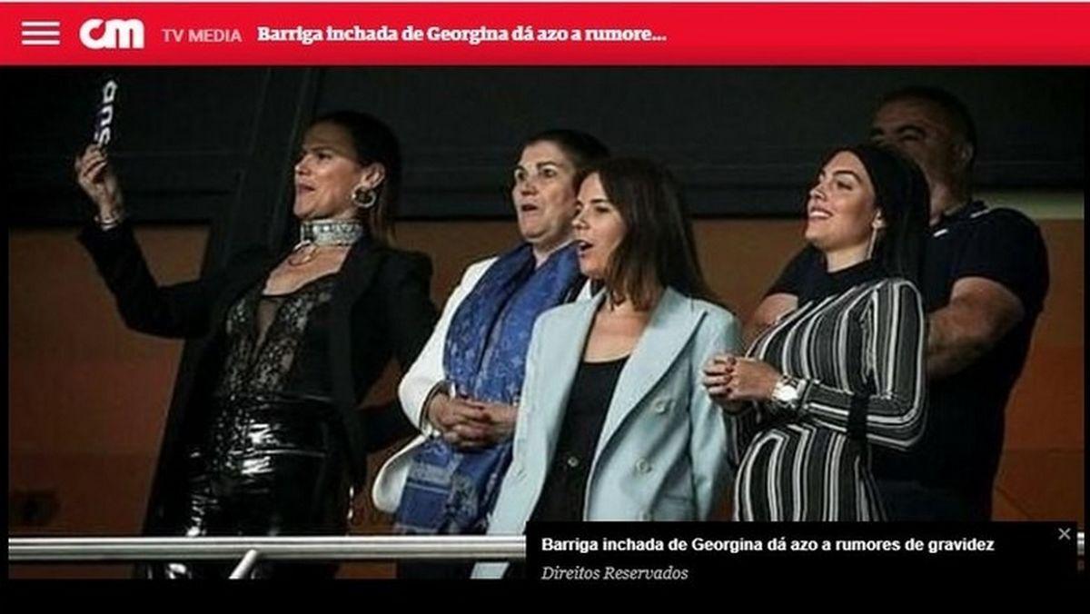 georgina pancia ronaldo papà