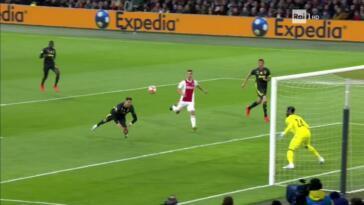 ajax-juventus 1-1 highlights video gol ronaldo