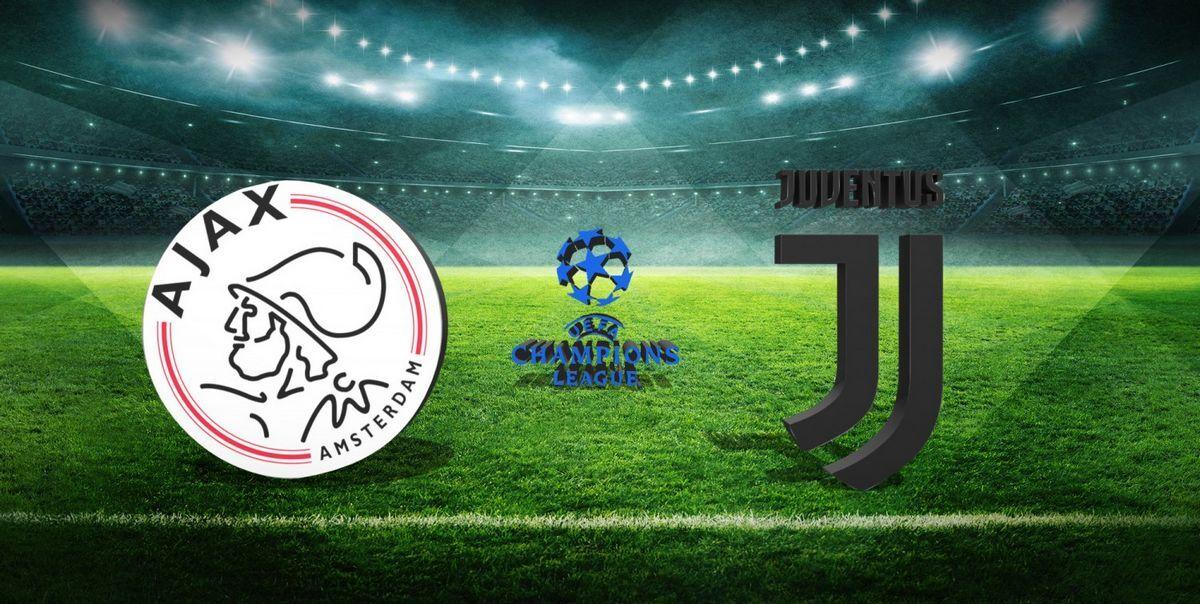 Ajax-Juventus: Diretta Streaming E Cronaca LIVE
