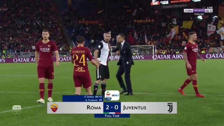 roma juve editoriale 2-0