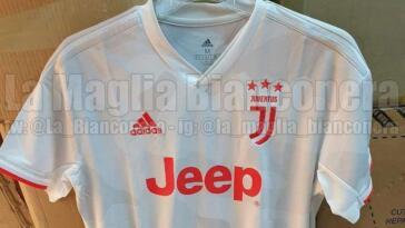 seconda maglia Juventus 2019-2020