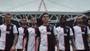 maglia home juventus 2019-2020 video