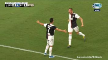juventus-inter highlights video gol ronaldo