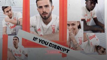 seconda maglia juventus 2019-2020 foto video