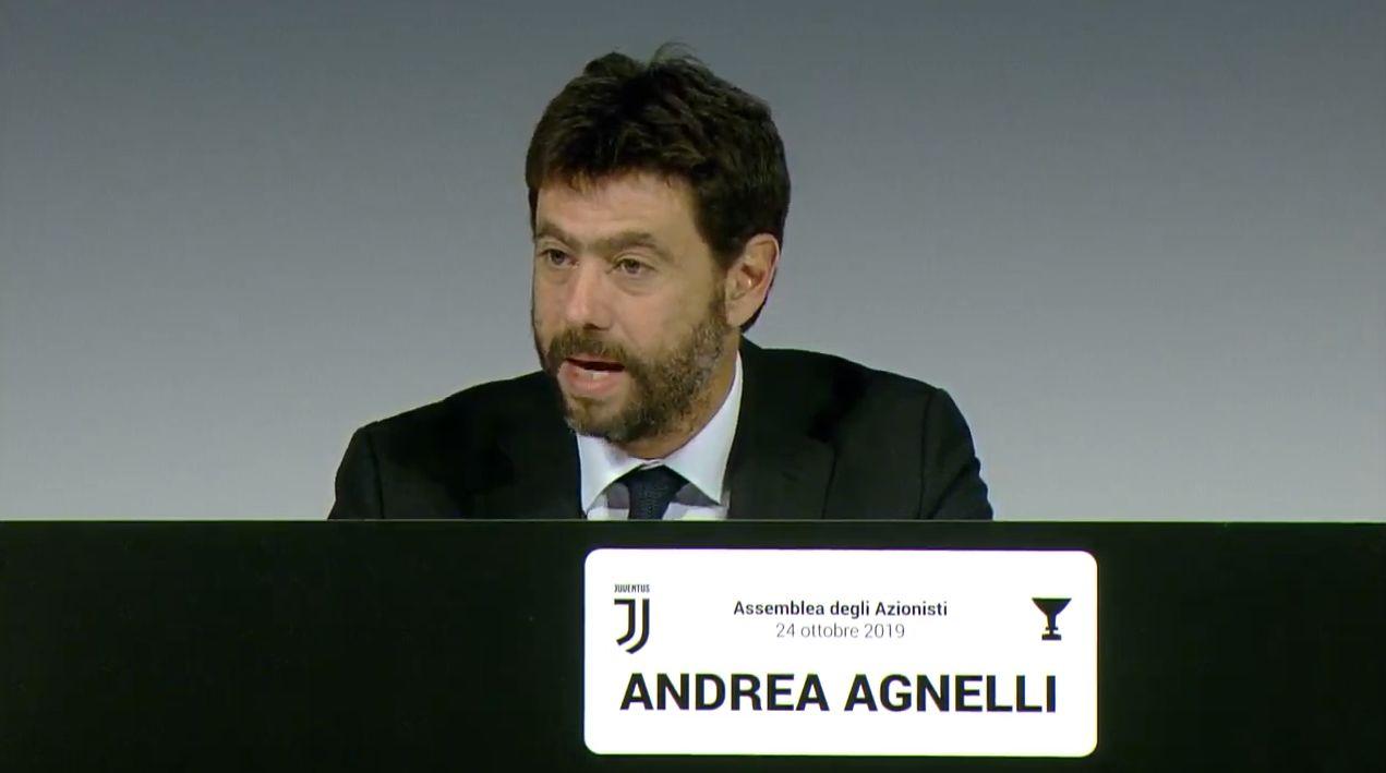 Image result for Juventus assemblea degli azionisti andrea agnelli