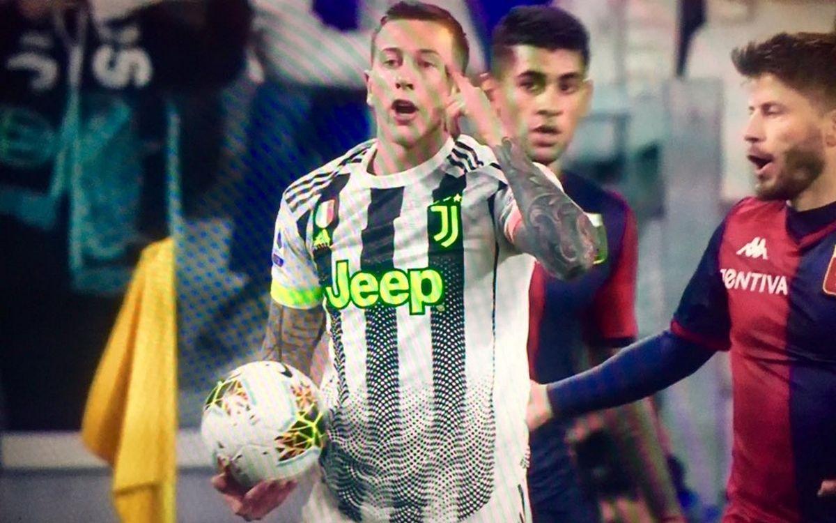 La quarta maglia Juventus 2019-2020 debutta contro il Genoa [FOTO]