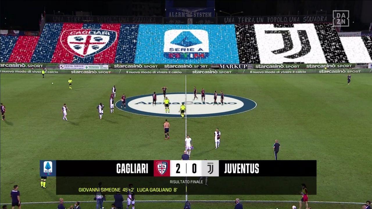 Cagliari-Juventus 2-0: highlights video gol e pagelle - Jmania.it