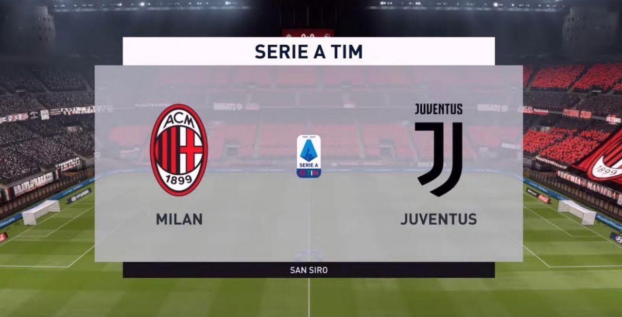 Juventus Milan Coppa Italia 2021