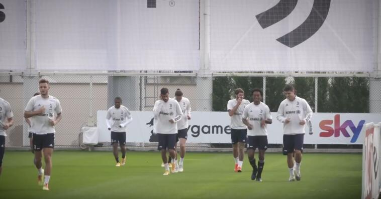 Chiesa: primo allenamento con la Juventus, subito in campo a Crotone?
