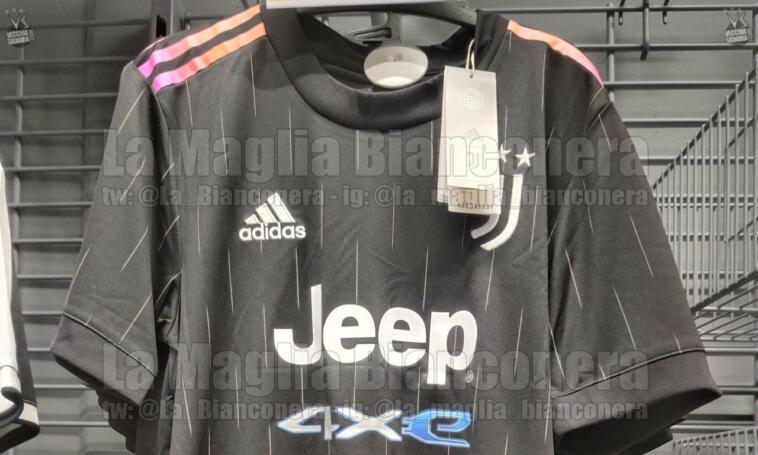 Nuova seconda maglia Juventus 2021-2022 total black (FOTO) - Jmania.it