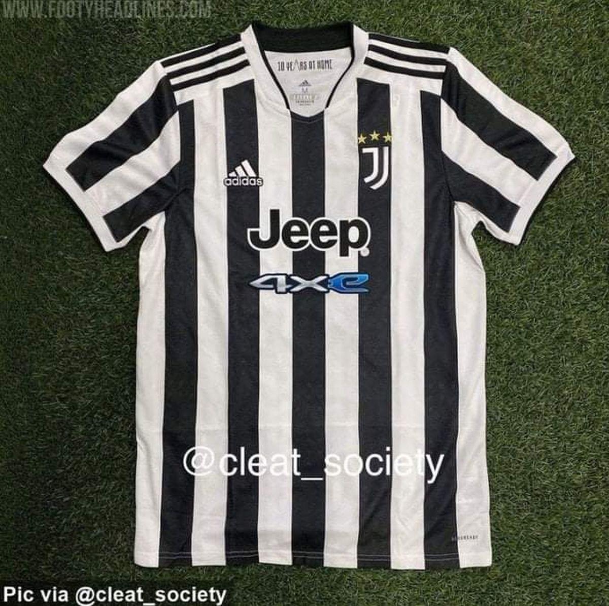 Nuova maglia Juventus 2021-2022 con omaggio allo Stadium (FOTO)